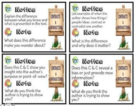 reading nonfiction notice note stances signposts and strategies 17 best images about stop notice and note on