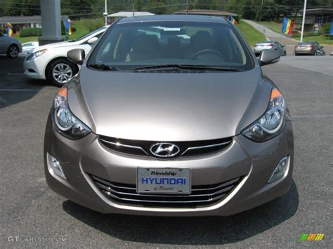 2012 desert bronze hyundai elantra limited 53117228 photo 3 gtcarlot car color galleries