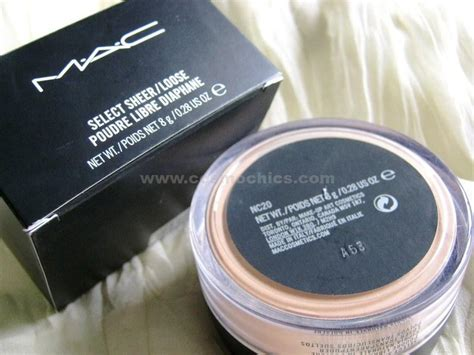 Mac Translucent Powder mac select sheer powder price review