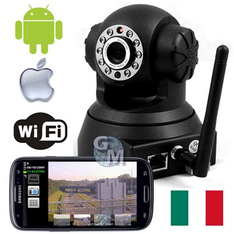 android camara ip ip camera ipcamera wifi motorizzata android iphone led ir