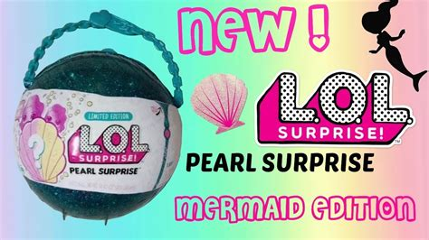 Egg Dolls Lol Anniversary Edition Glitter Serie lol pearl limited edition new mermaids lol