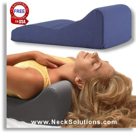 Cervical Kyphosis Pillow by Neck Support Pillow Cervical Support Pillow