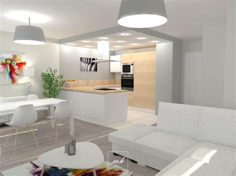 Am Nager Une Cuisine Ouverte 4071 by Amnager Entre Ouverte Sur Salon Amenager Salon Salle A