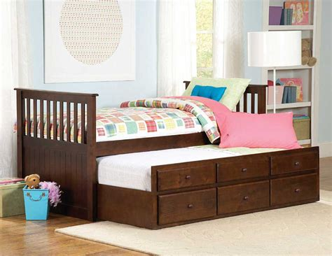 Kids Trundle Beds Paula Captain S Bed With Trundle Buy Kids Furniture Online