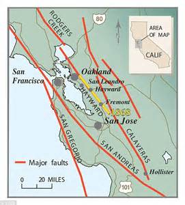 san francisco fault map forget cascadia and san andreas the hayward fault could