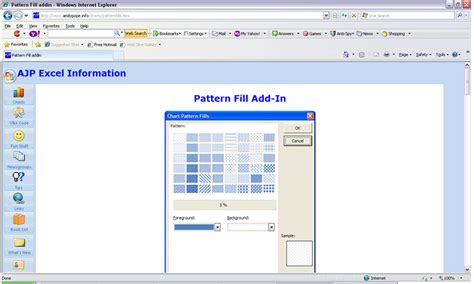 excel 2007 black and white pattern fills chart pattern fills excel 2007 bantuan purplesmile s