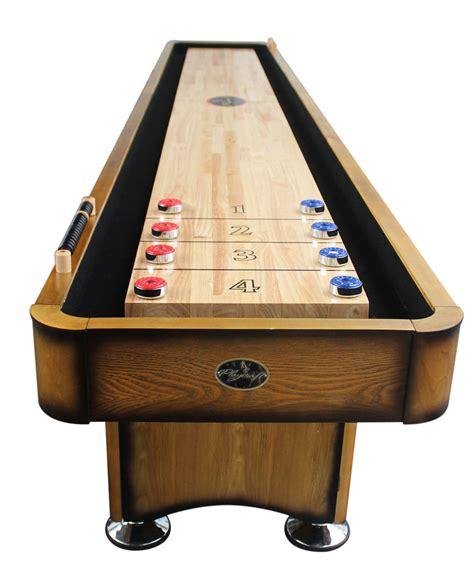 12 shuffleboard table dimensions 12 georgetown honey shuffleboard table shuffleboard