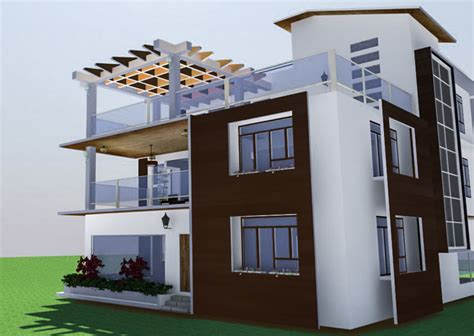 residential house design development