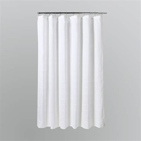 drapery solutions home solutions waffle squares white shower curtain shop