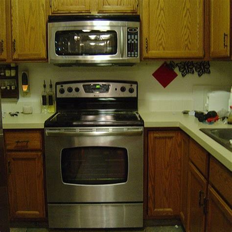 microwave stove cabinet best 25 microwave above stove ideas on built