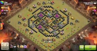 Clash of clans th8 vs th8 dragon clan war 3 star attack24 1038x576 jpg