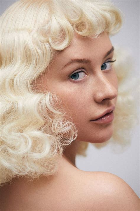 Aguilera On The Power Of Mascara by Aguilera Bares Makeup Free Well
