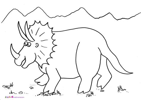 dinosaur color dinosaurs pictures to colour animal