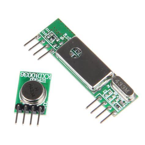 433 Mhz 433mhz Transmitter Dan Receiver Transceiver Baru Baru B arduino nano op raspberry pi computer techniek