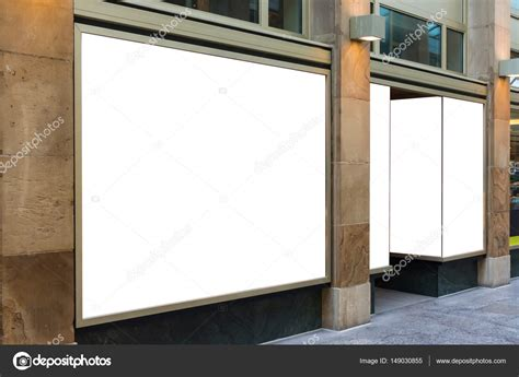 storefront templates blank storefront copy space template crowded area mall