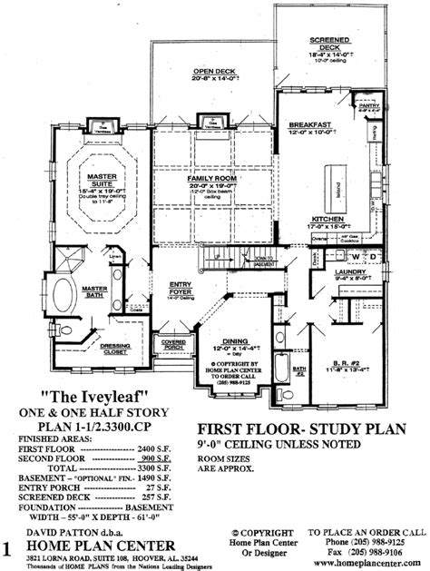 remarkable story and half house plans photos best idea home plan center iveyleaf first floor