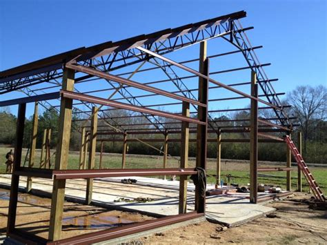 Steel Pole Barn Custom Metal Solutions 187 Pole Barns