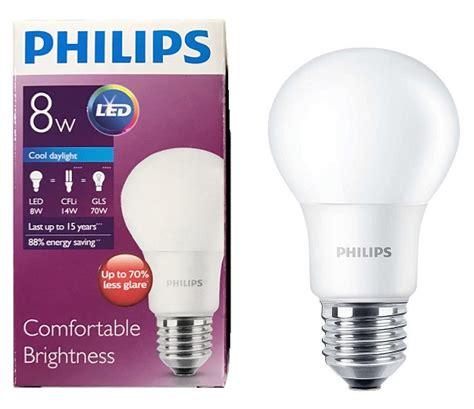 Lu Led Bulb Philips b 243 ng 苟 232 n ledbulb philips 8w e27 6500k a60 s 225 ng h譯n ti蘯ソt