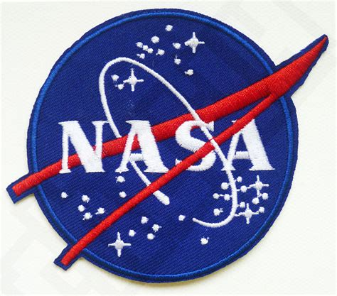 Patchwork Patches - logo embroidered nasa pattern patch sew on patch badge