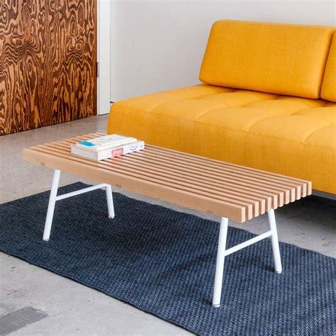 gus modern bench transit bench in ash design by gus modern burke decor