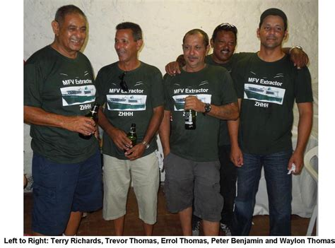 Mba Crew by Mfv Extractor Arrives 171 St Helena