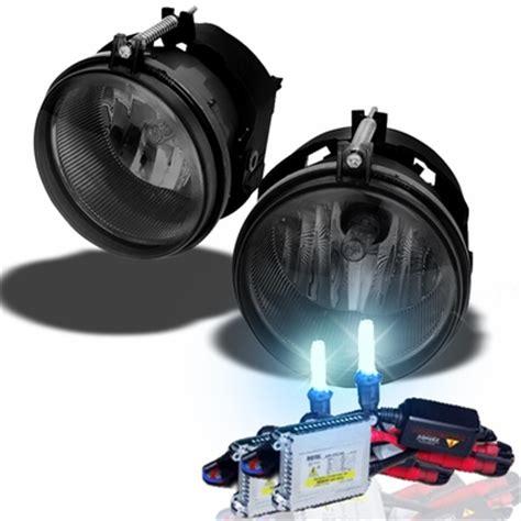 dodge charger hid fog lights hid xenon 05 08 dodge charger factory bumper fog lights