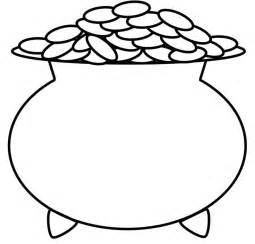 pot of gold coloring page pot of gold coloring pages world