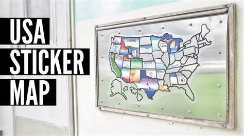 rv united states sticker map usa sticker map for rvs time rv living map of