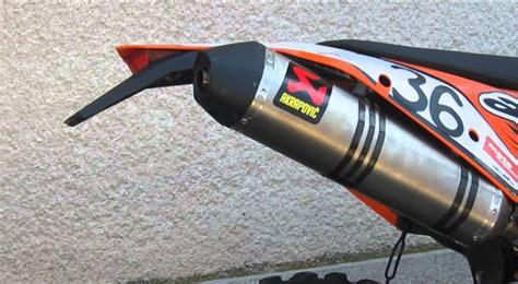 Akrapovic Exhaust Ktm 450 Exc Ktm Exc 450 Sound Comparison Serial Vs Akrapovič Slip On