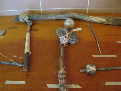 primitive tools grade eight primitive tools and weapons project immaculate of school