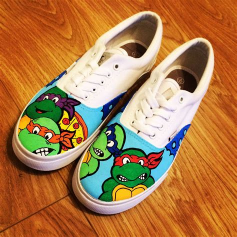 turtles shoes mutant turtles shoes tmnt by