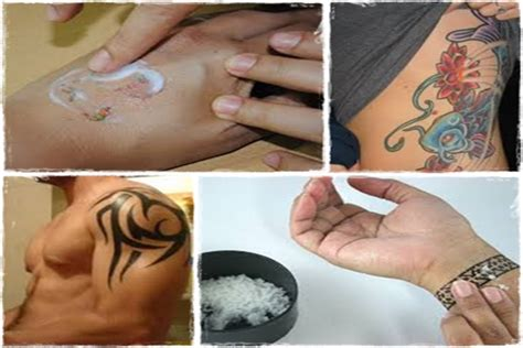 remove tattoo naturally home get rid naturally review how to remove tattoos