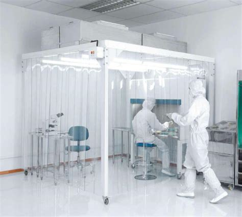 sulle banche cleanroom cleanroomflex conception installation de salle