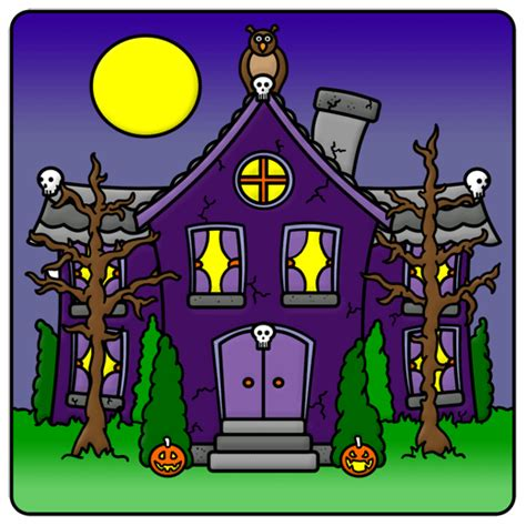 haunted house cartoon haunted house drawing lesson
