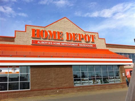 the home depot department stores 2030 50th avenue deer ab phone number yelp
