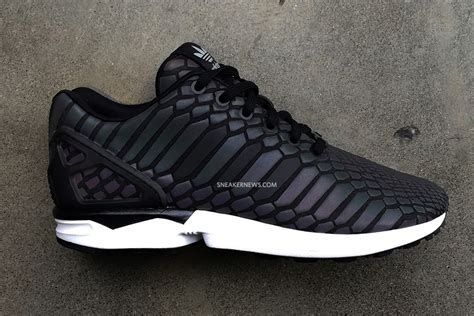 adidas originals to debut a new reflective material on the zx flux sneakernews