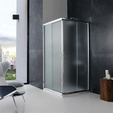 cabina doccia in cristallo box doccia 70x70 cristallo opaco 6 mm economico kv store