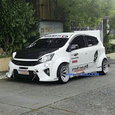 Modifikasi Mobil Agya by Gambar Toyota Agya Ceper Modifikasi Mobil