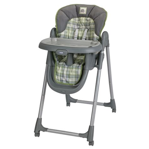 Graco Mealtime High Chair by Graco S Meal Time Highchair Has 4 Height And 3