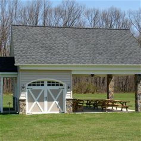 backyard garage ideas outdoor pavilion attached to a house studio design