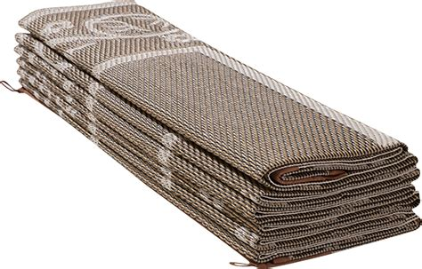 rv patio mat 6 x 9 reversible outdoor rug cing