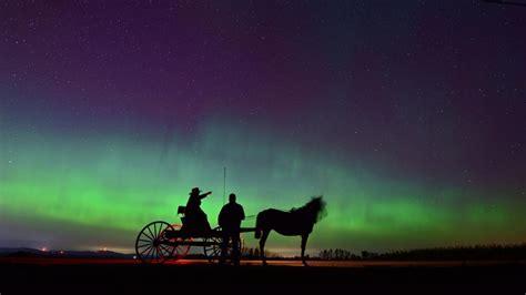 northern lights in maine 2017 spettacolare boreale nel maine
