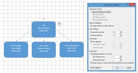 word layout guides how to make an org chart in word lucidchart