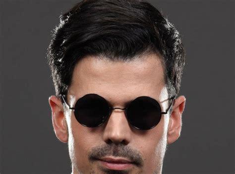 runde sonnenbrille cooles und modernes accessoire