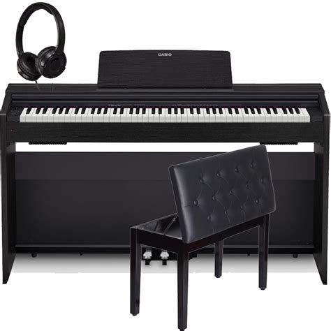 casio keyboard bench casio px870bk home digital piano 88 key weighted with