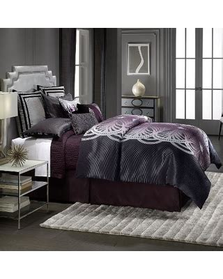 hot deals   jennifer lopez bedding collection  pc marquee comforter set purple