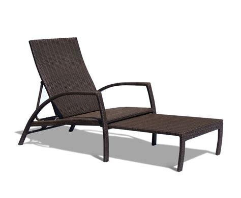 Chaise Sofa Lounge Monaco Outdoor Rattan Sun Lounger