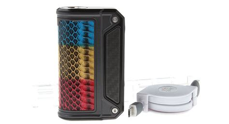 Therion Dna 166 250 Authentic By Lost Vape Black Frame Dna166 159 00 authentic lost vape therion dna 166w box mod 1