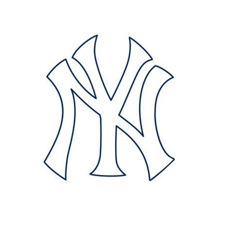 New York Yankees Cliparts Cliparts And Others Art New York Yankees Coloring Pages