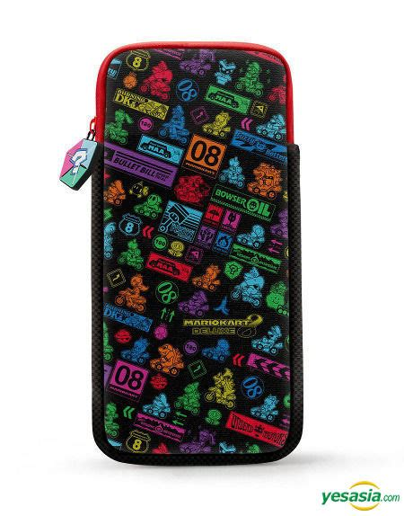 Switch Multi Pouch For Nintendo Switch Mario Kart 8 1 yesasia nintendo switch multi pouch mario kart 8 deluxe